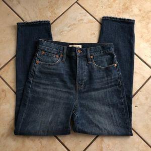Madewell vintage crop jeans